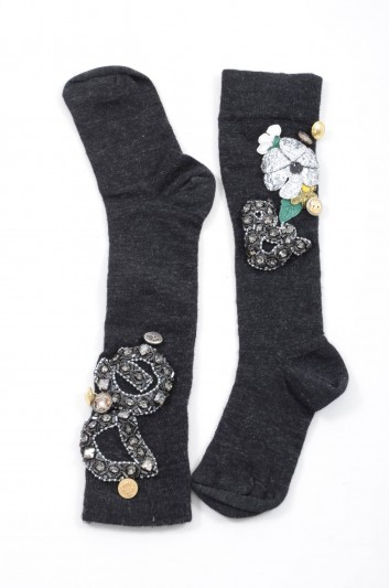 Dolce & Gabbana Women Socks - FRZ02Z F85L7
