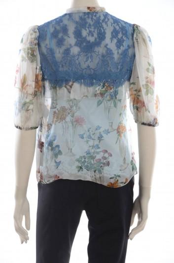 Dolce & Gabbana Women Silk Blouse - F7ZU5T HS1N8