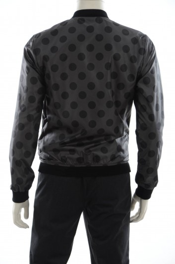 Dolce & Gabbana Men Reversible Bomber Jacket - G9EC3T G7AWD
