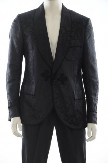 Dolce & Gabbana Men Silk Suit Jacket - G2MA4T FJ1FI