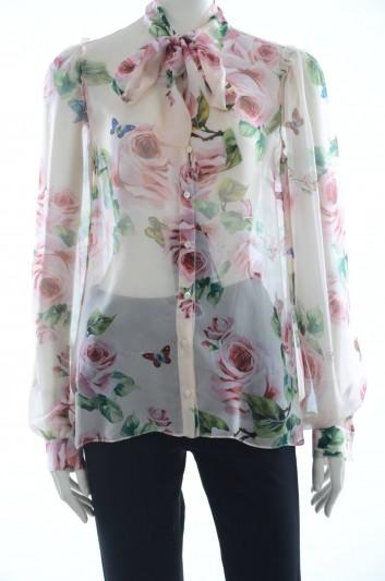 Dolce & Gabbana Women Silk Blouse - F5I66T HS1P5