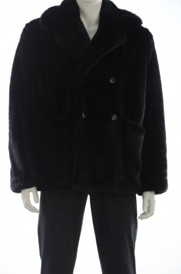 Dolce & Gabbana Men Furry Coat - G9PT8T FUPYV
