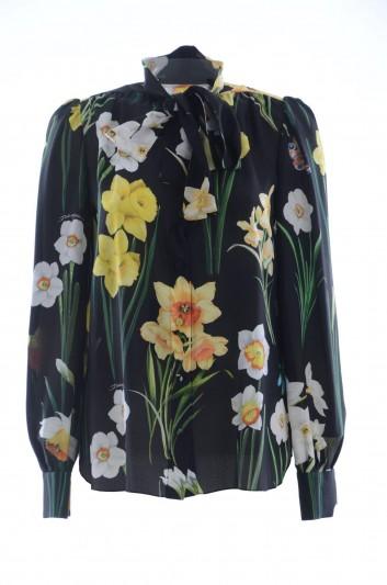 Dolce & Gabbana Women Silk Blouse - F5J57T HS1WJ