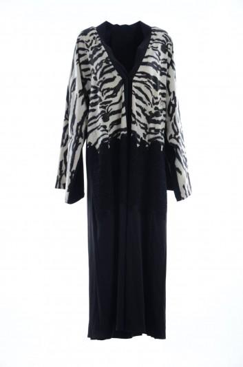 Dolce & Gabbana Caftán Estampado Leopardo Mujer - F6YH7T FSAH1