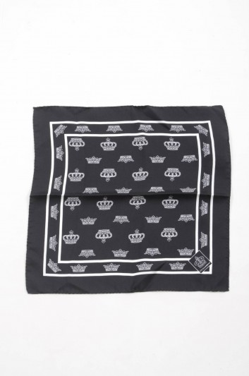 Dolce & Gabbana Men Silk Handerkerchief - GR412E G0SPM