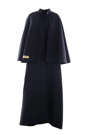 Dolce & Gabbana Women Cape Wool Coat - F0W32T FU2ZA
