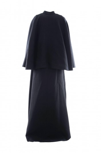 Dolce & Gabbana Women Cape Wool Coat - F0W32T FU2ZA