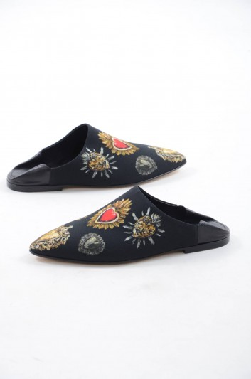 Dolce & Gabbana Pantuflas Corazones Hombre - CI0046 AH748