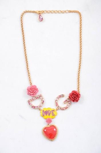 Dolce & Gabbana Women DG Rose Necklace - WNL2C6 W1111
